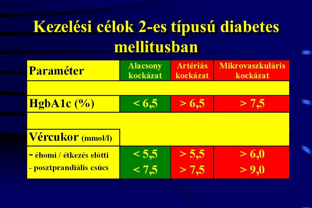Ultragyors inzulinanalógok indikációi Jelentős, másképp nem befolyásolható posztprandiális hiperglikémia 1-es típusú diabétesz remissziós fázisa Éjszakai hipogikémiák kiküszöbölése Rendszertelenül és bizonytalanul evők (idősek, gyermekek, rendszertelen életet élők) Testsúlycsökkentés igénye Jelentős, másképp nem befolyásolható posztprandiális hiperglikémia 1-es típusú diabétesz remissziós fázisa Éjszakai hipogikémiák kiküszöbölése Rendszertelenül és bizonytalanul evők (idősek, gyermekek, rendszertelen életet élők) Testsúlycsökkentés igénye