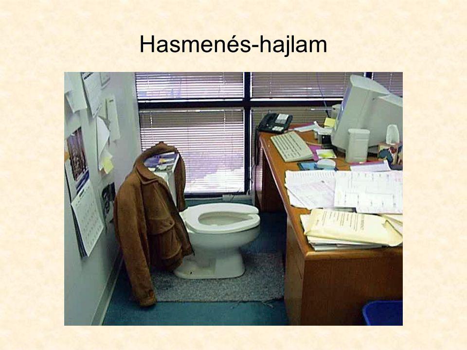 Hasmenés-hajlam
