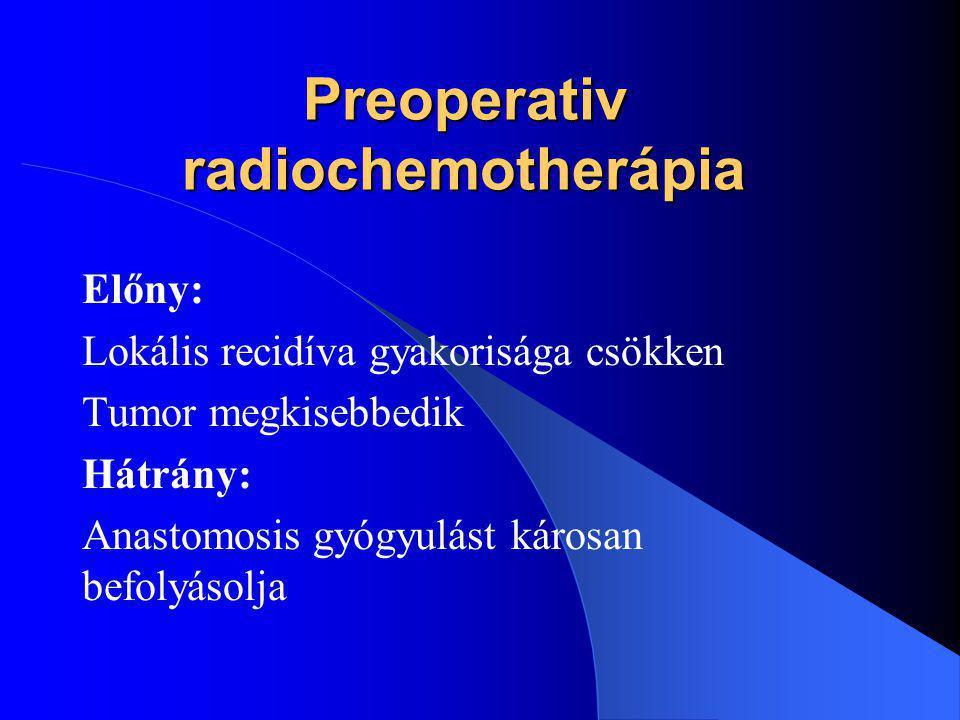 Ascendo-rectalis / analis anastomosis gyakorlatunkban Bevezetés: (Szabolcs utcai kórház) 1.