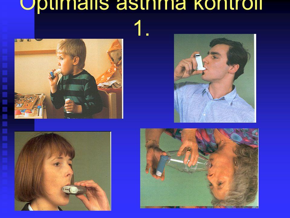Optimális asthma kontroll 1.