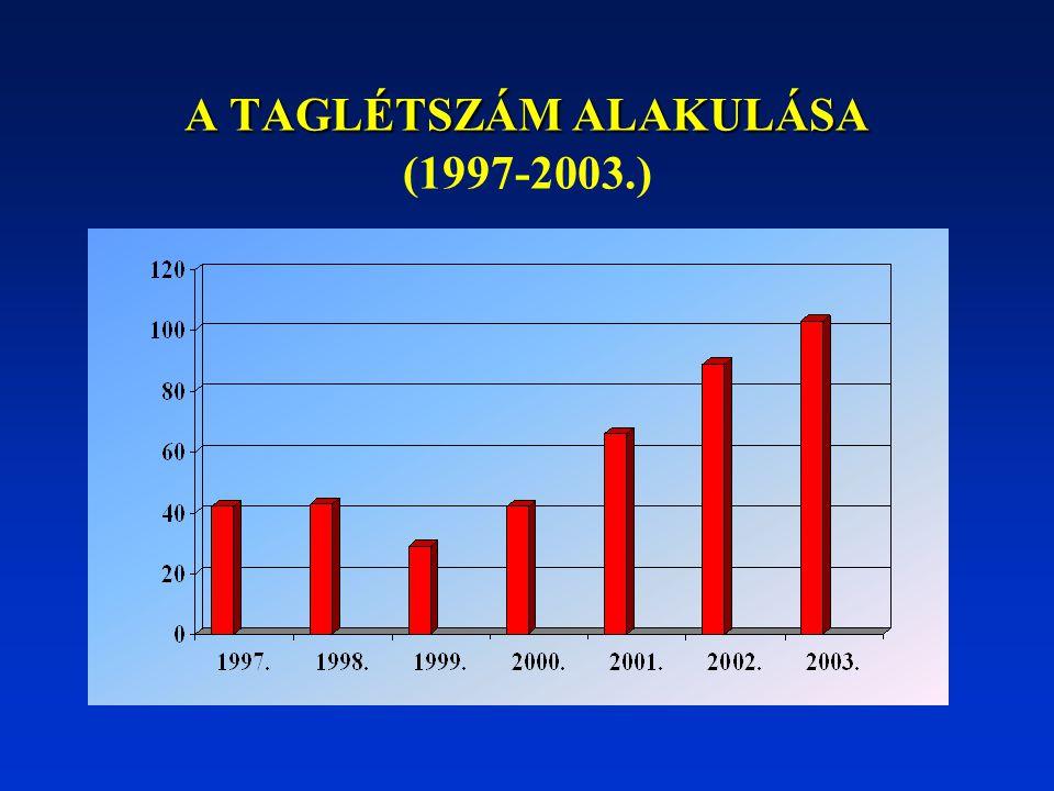 AZ ELMÚLT ÉVEK MUNKÁJÁNAK ÖSSZEFOGLALÁSA: 1997.