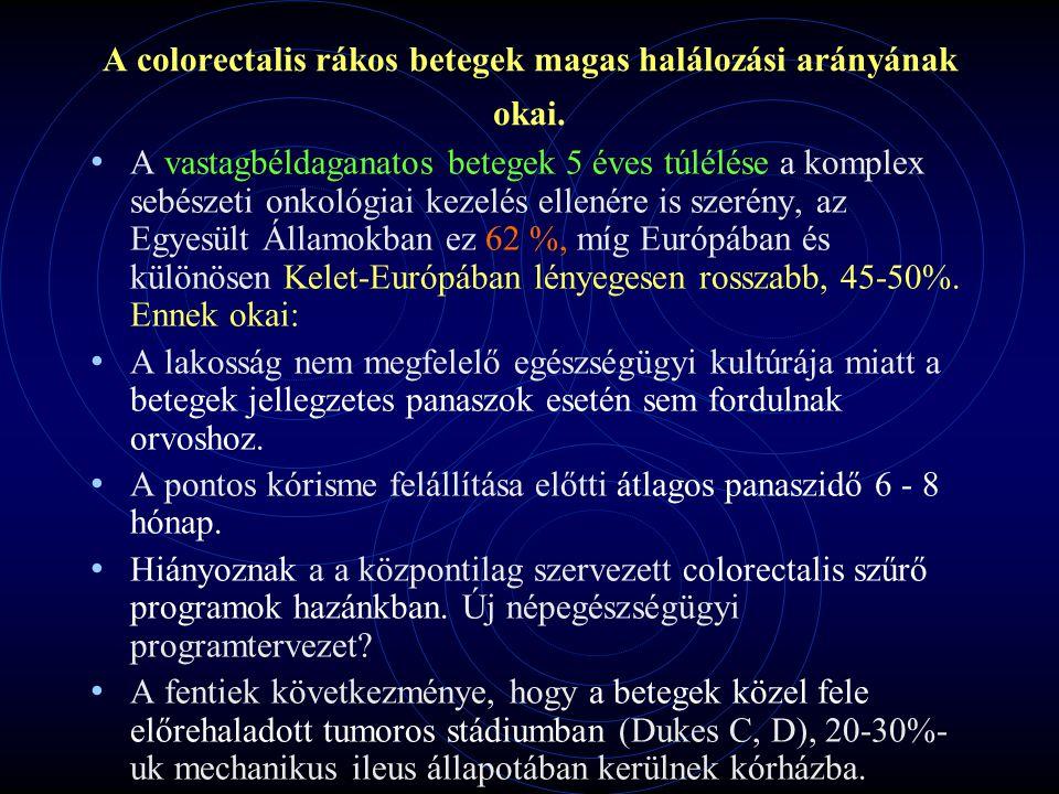 A Jahn F.-Délpesti Kh.-ban 2007-08-ban végzett colorectalis carc.