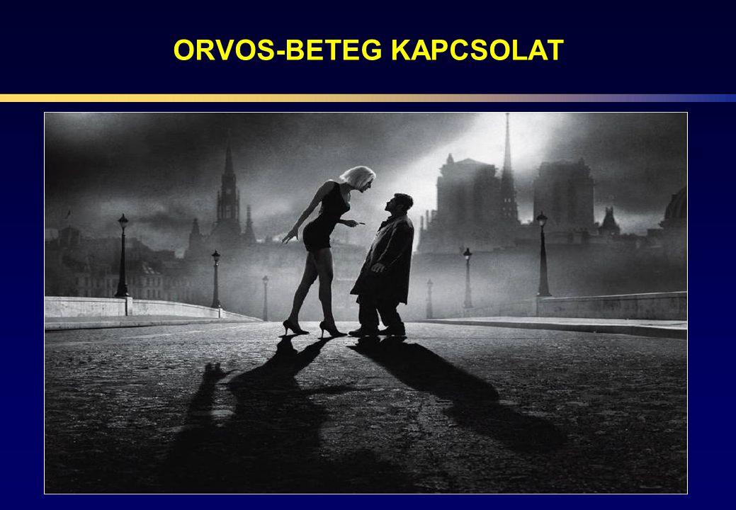 ORVOS-BETEG KAPCSOLAT