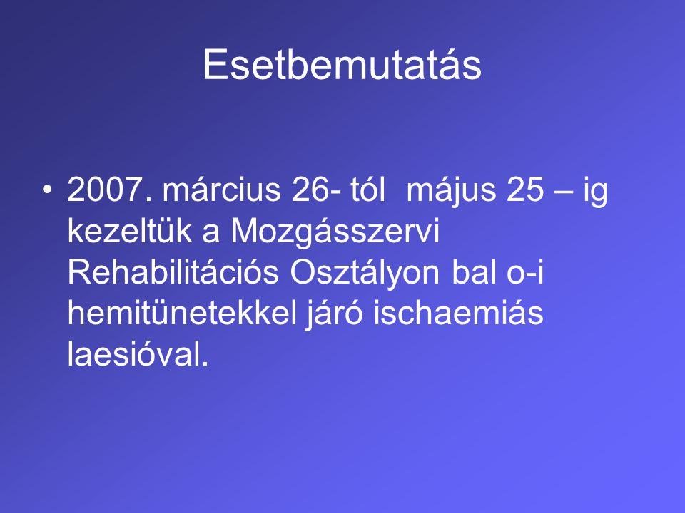 Stroke I.Morbiditási és mortalitási okok listáján vezető szerepet tölt be.