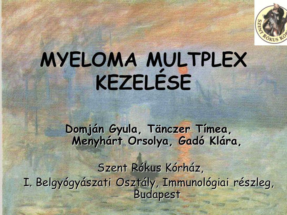 Pest Megyei Orvosnapok 2006 TERÁPIA IV.