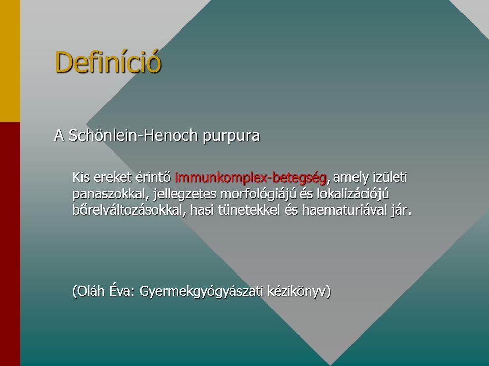 Vesebiopszia immunkomplex-betegség S.E.1.sz.