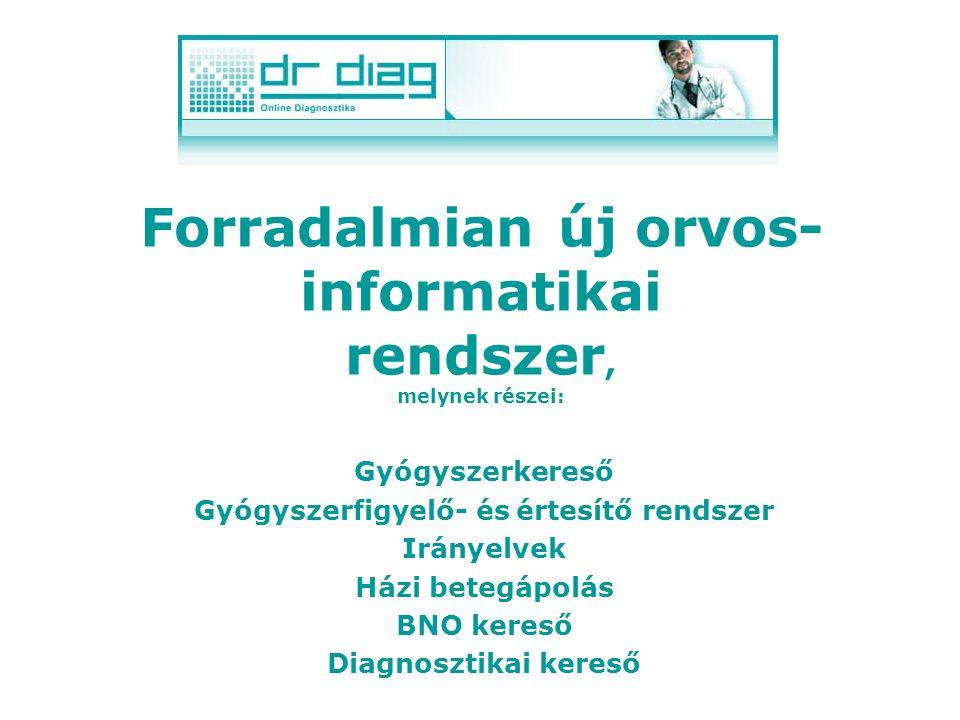 Intolerancia vizsgálata A DrDiag rendszer a gyógyszer kereséseknél az allergia vizsgálat mellett az intoleranciát is tudja vizsgálni.