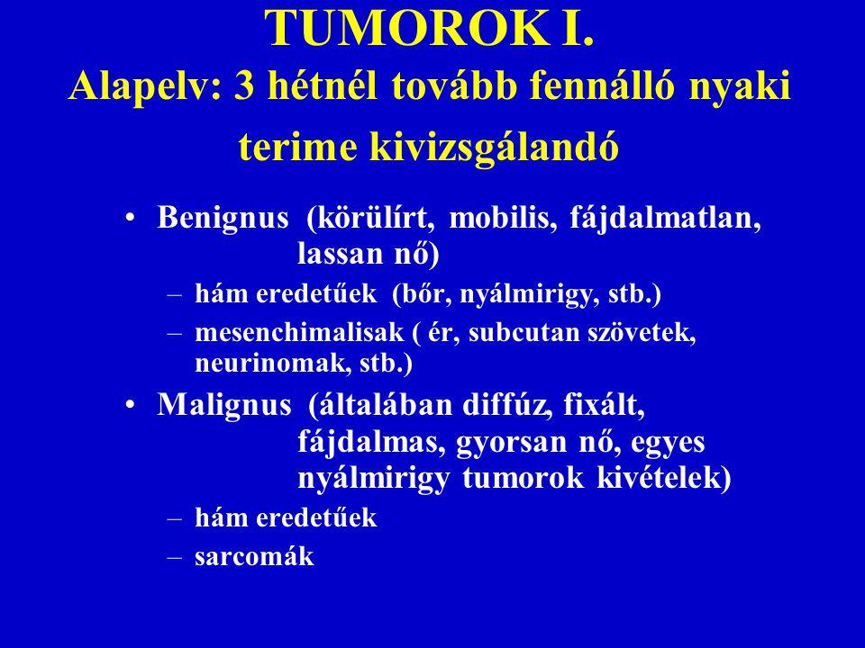 TUMOROK II.Malignus szisztémás betegségek –leukémiák –M.