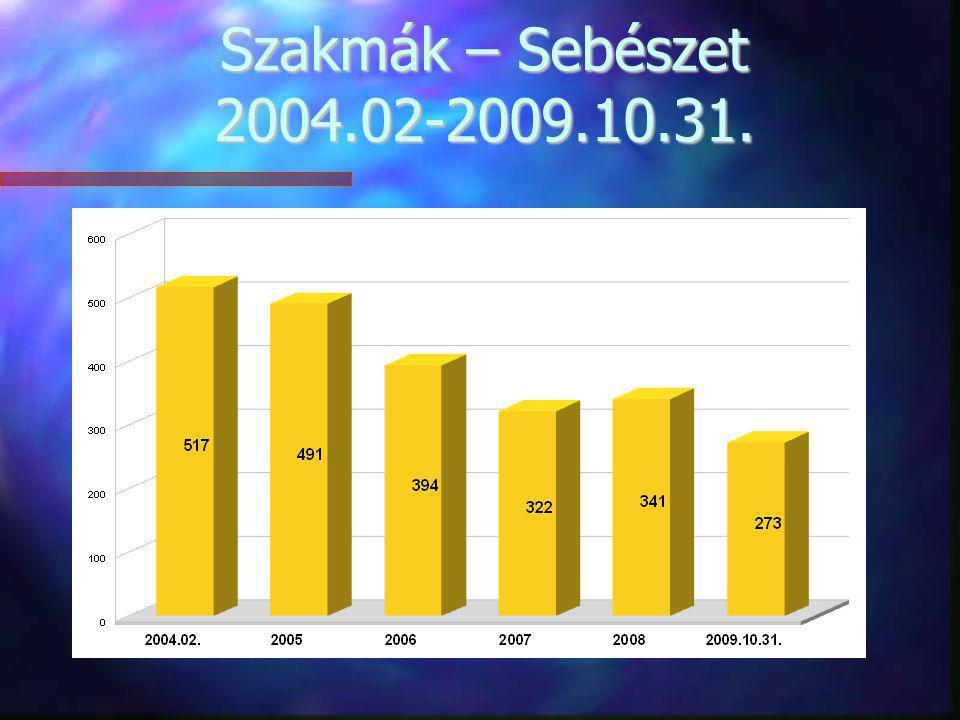 Szakmák – Sebészet 2004.02-2009.10.31.