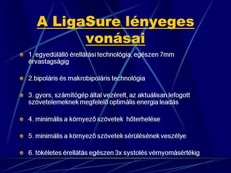 A LigaSure lényeges vonásai 1.