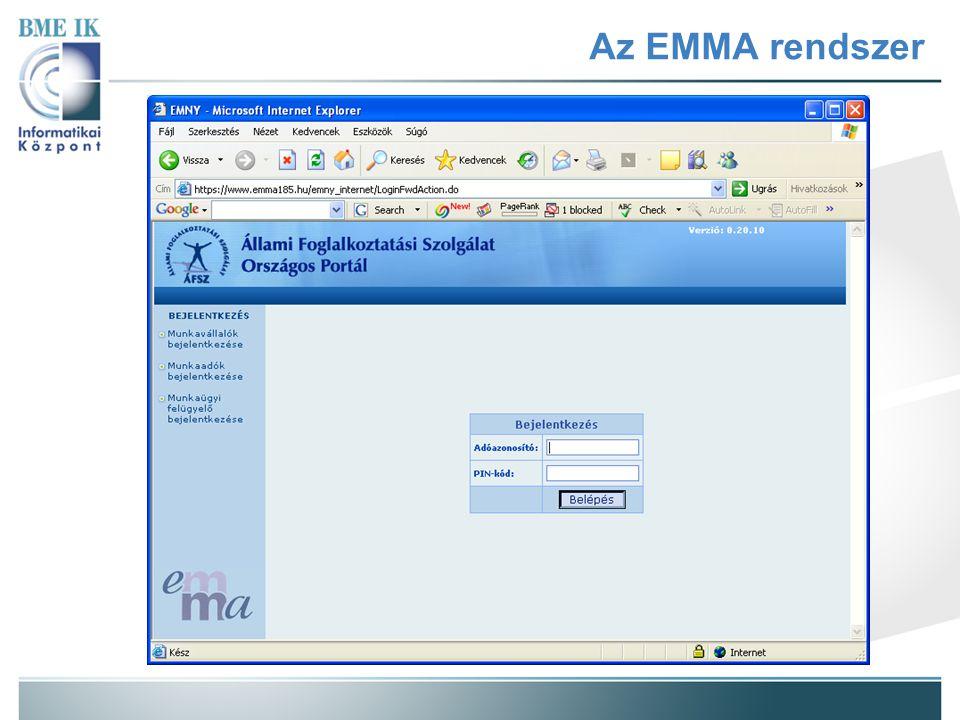 Az EMMA rendszer