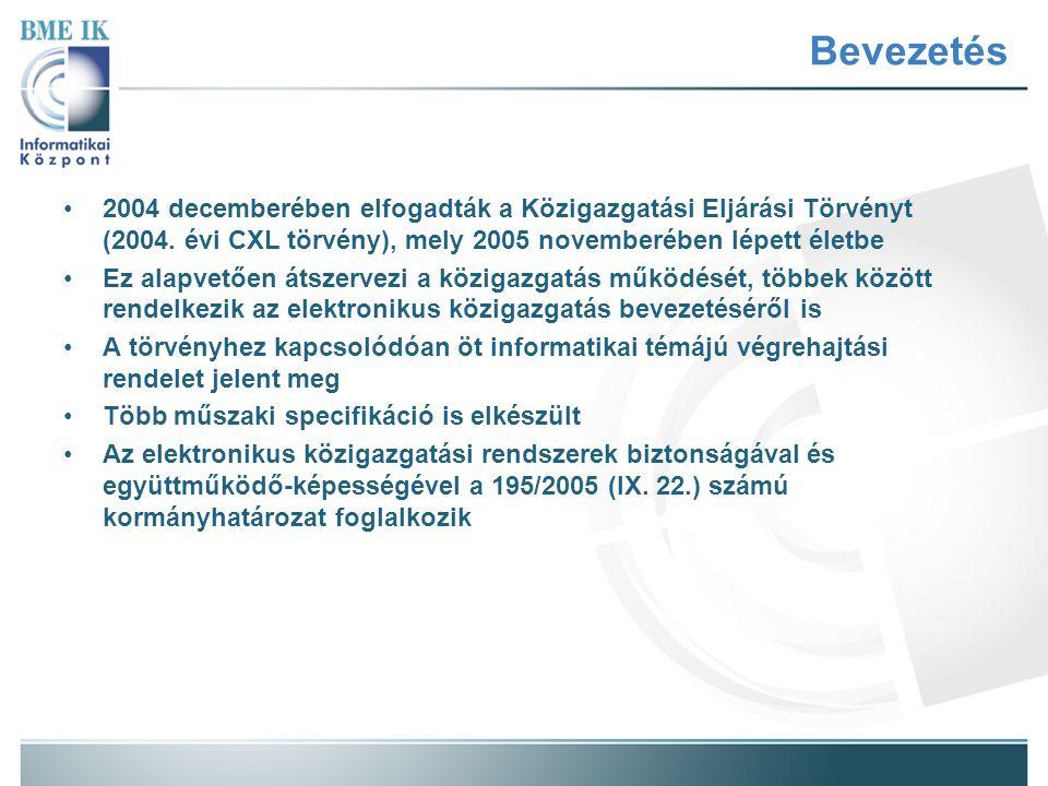 A végrehajtási rendelet A IV.