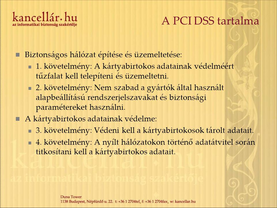 A PCI DSS tartalma Sérülékenység-kezelési program fenntartása: 5.