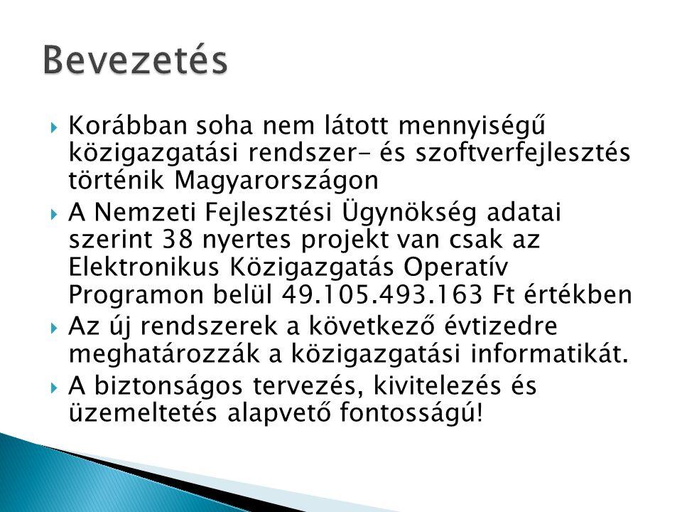 Korábban soha nem látott mennyiségű közigazgatási rendszer- és szoftverfejlesztés történik Magyarországon  A Nemzeti Fejlesztési Ügynökség adatai s