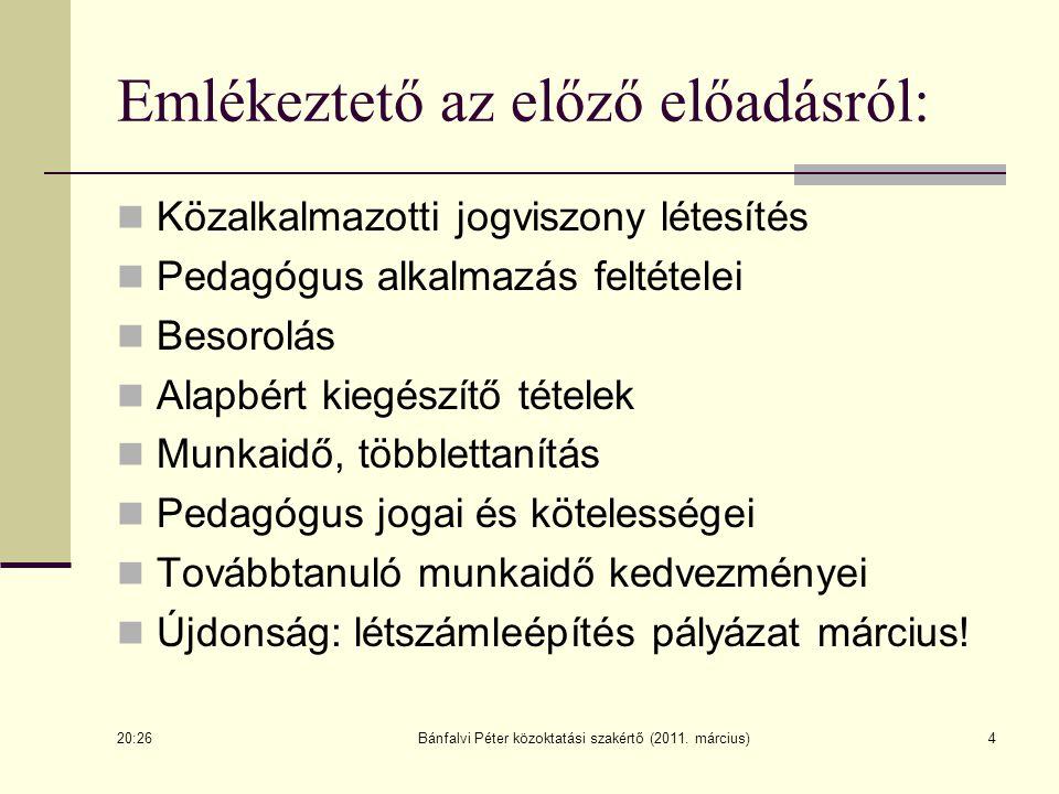 35 A nevelési és pedagógiai program (79/1993.tv. 44.§-51.§) 47.