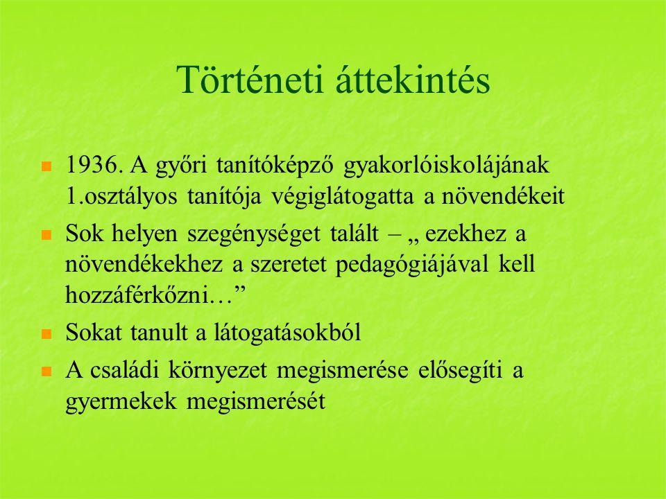 Történeti áttekintés 1936.