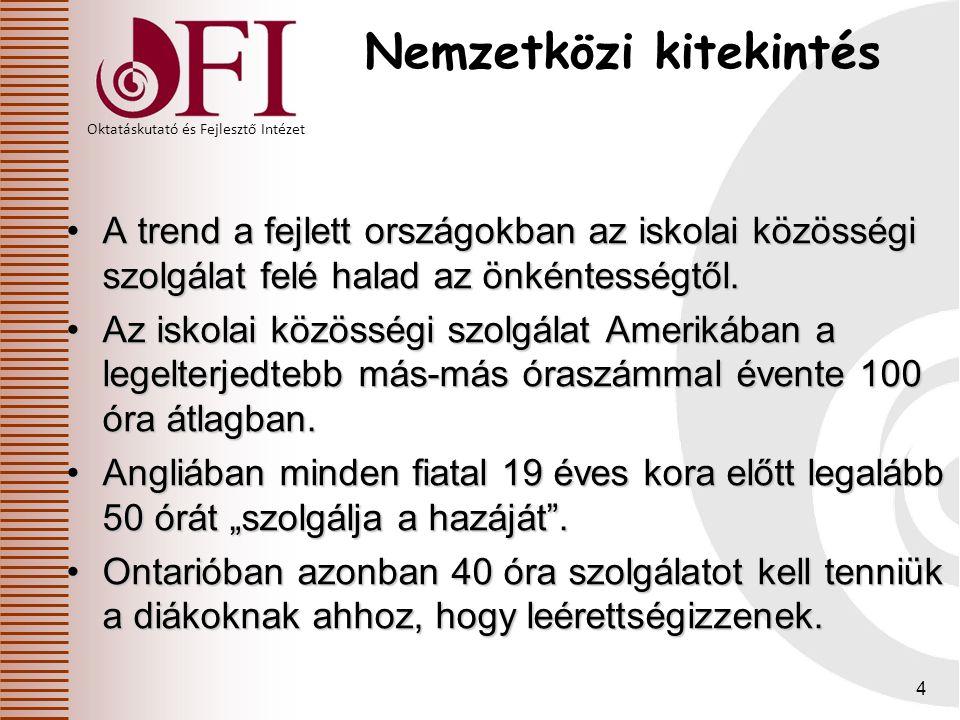 """Oktatáskutató és Fejlesztő Intézet Nem lényegtelen """"látványelemek 2013. 06.05.35"""