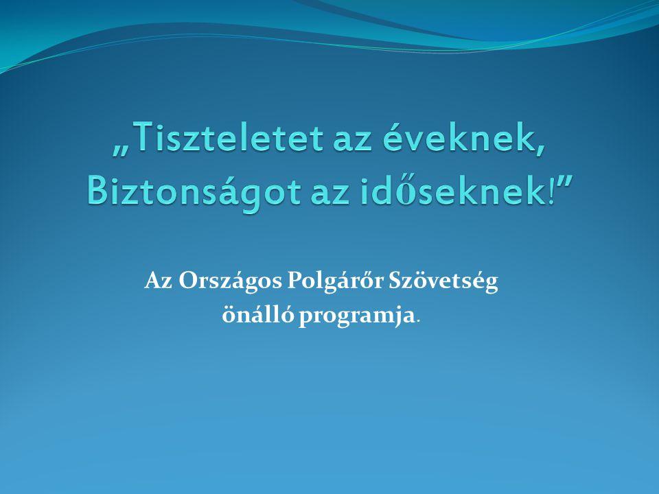 Az Országos Polgárőr Szövetség önálló programja.