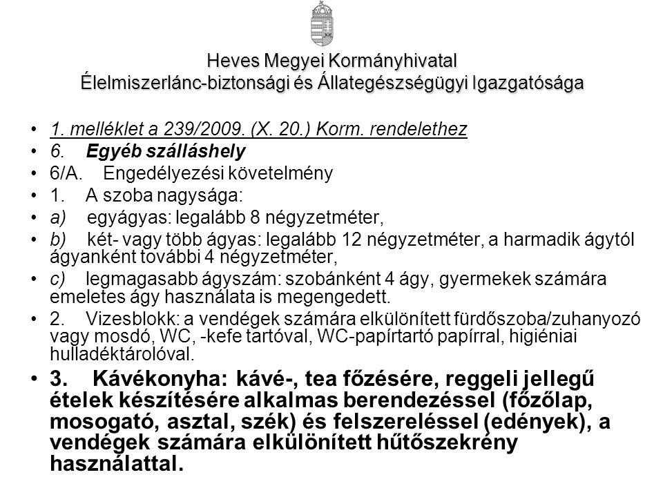 Heves Megyei Kormányhivatal Élelmiszerlánc-biztonsági és Állategészségügyi Igazgatósága 1.