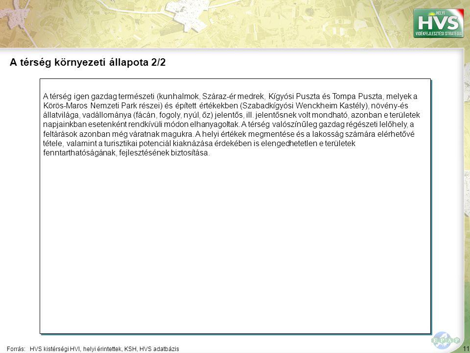 11 A térség igen gazdag természeti (kunhalmok, Száraz-ér medrek, Kígyósi Puszta és Tompa Puszta, melyek a Körös-Maros Nemzeti Park részei) és épített értékekben (Szabadkígyósi Wenckheim Kastély), növény-és állatvilága, vadállománya (fácán, fogoly, nyúl, őz) jelentős, ill.