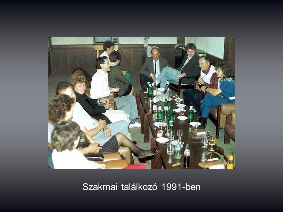 Szakmai találkozó 1991-ben