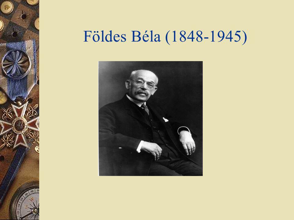 Földes Béla (1848-1945) 