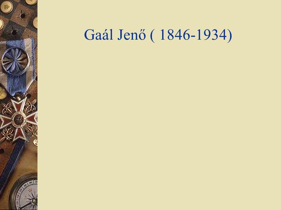 Gaál Jenő ( 1846-1934)