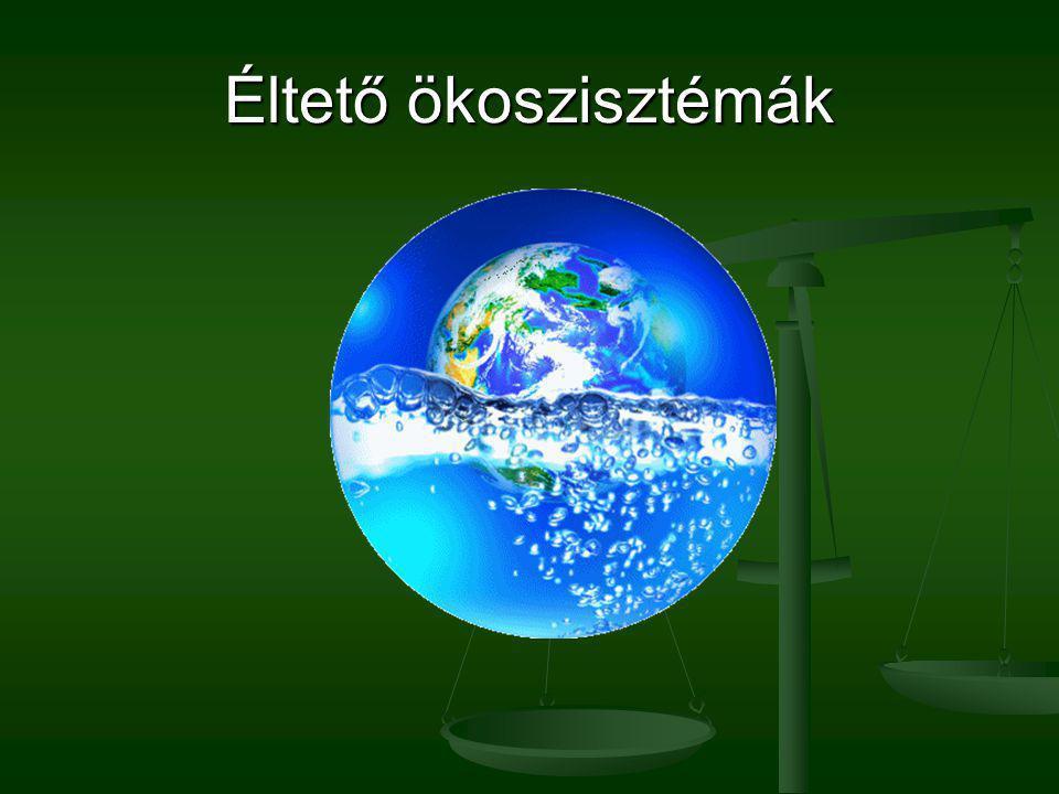 Éltető ökoszisztémák