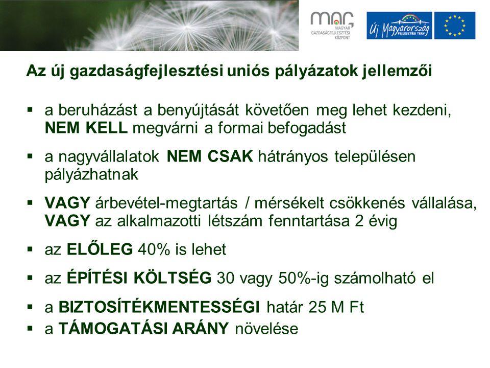 Új Magyarország Kockázati Tőke befektetési keretrendszer Befektetés formája:tőkefinanszírozás Céltársaságok: Hazai mikro-, kis- és középvállalkozások: - 5 éven belüli alapítás (az első befektetési döntéskor) - Nettó éves árbevétel < 1,5 mrd Ft (anyavállalataival együtt) A befektetés nem használható fel: hitelkiváltás, kereskedelmi (ingatlan értékesítési) célú ingatlanfinanszírozás, részesedésszerzés Ügyletméret: egy 12 hónapos időszak alatt max.
