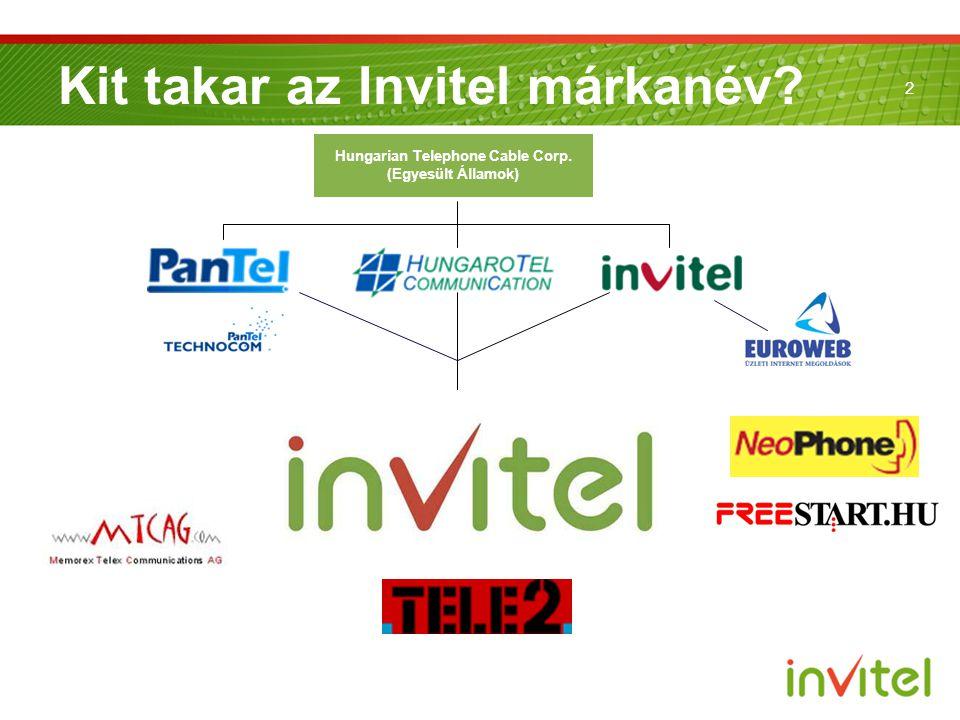 2 Kit takar az Invitel márkanév? Hungarian Telephone Cable Corp. (Egyesült Államok)