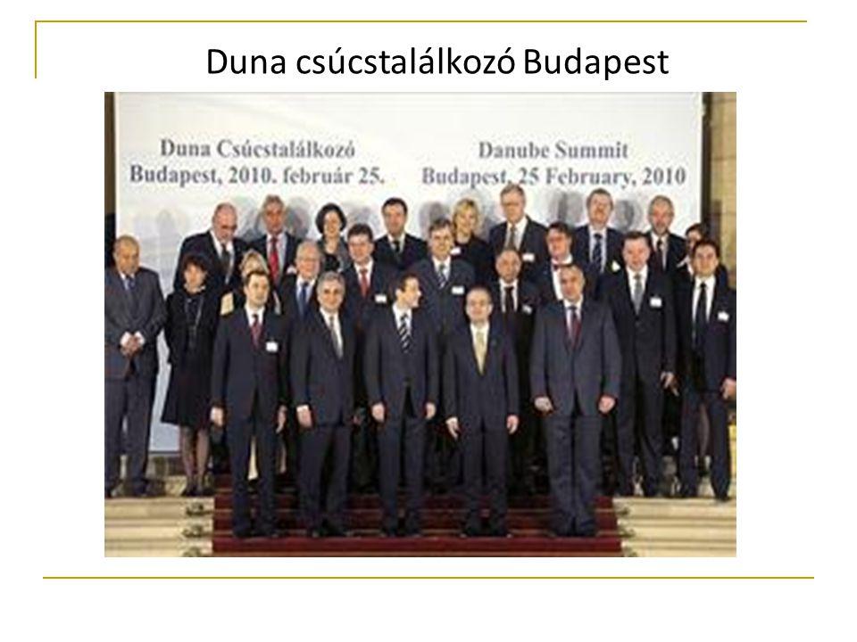 Duna csúcstalálkozó Budapest