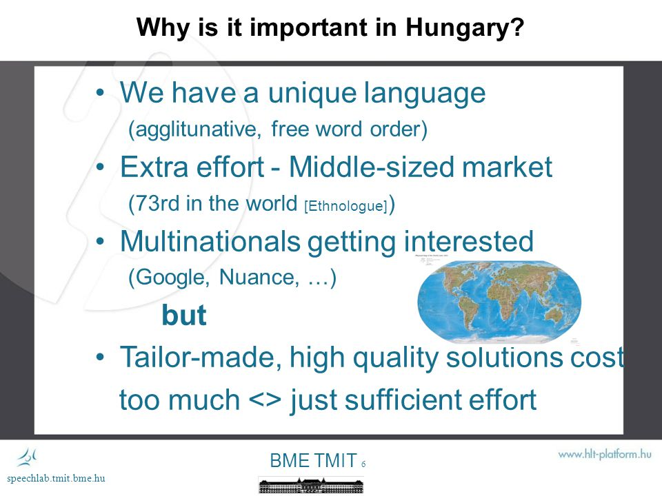 BME TMIT 6 speechlab.tmit.bme.hu Why is it important in Hungary.
