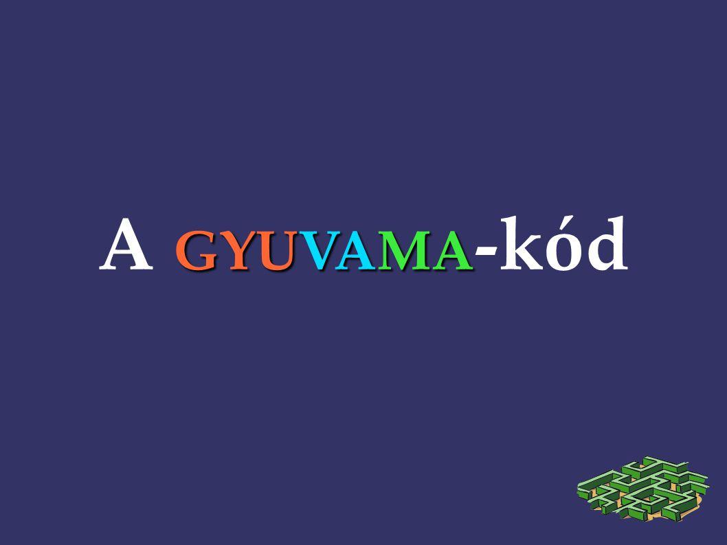 GYUVAMA A GYUVAMA -kód