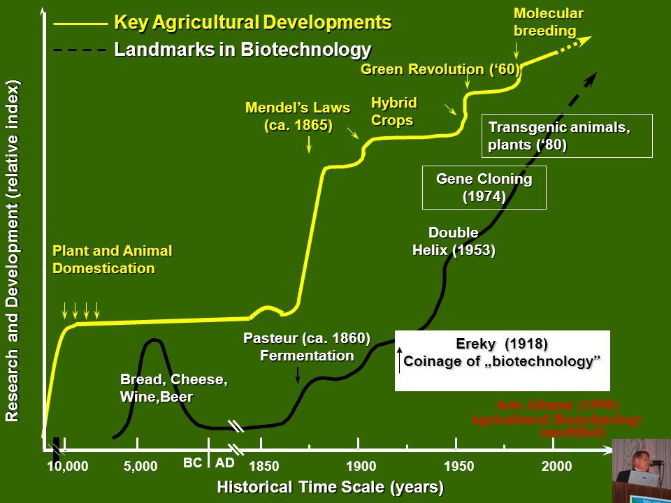 """A """"biotechnológia születése Múlt"""
