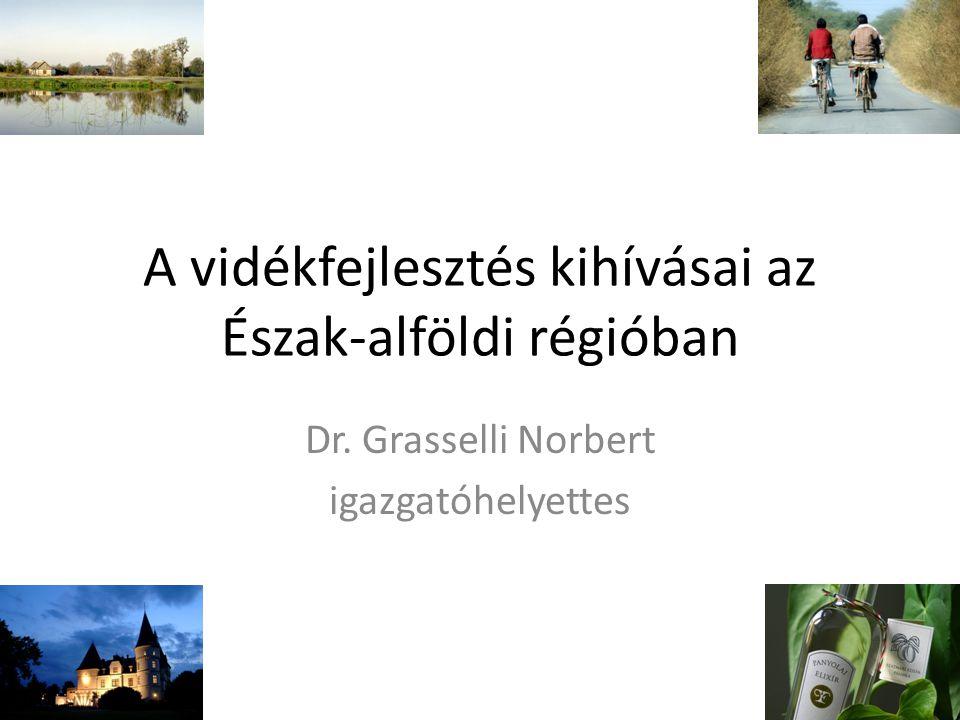 A vidékfejlesztés kihívásai az Észak-alföldi régióban Dr. Grasselli Norbert igazgatóhelyettes