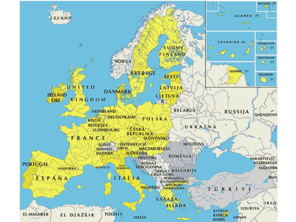 Az Európai Unió döntéshozó folyamata három intézményre épül: - az Európai Parlament, - az Európai Unió Tanácsa - az Európa Bizottság, A EU meghatározó alapintézményei továbbá: - az Európai Közösségek Bírósága, - az Európai Számvevőszék.