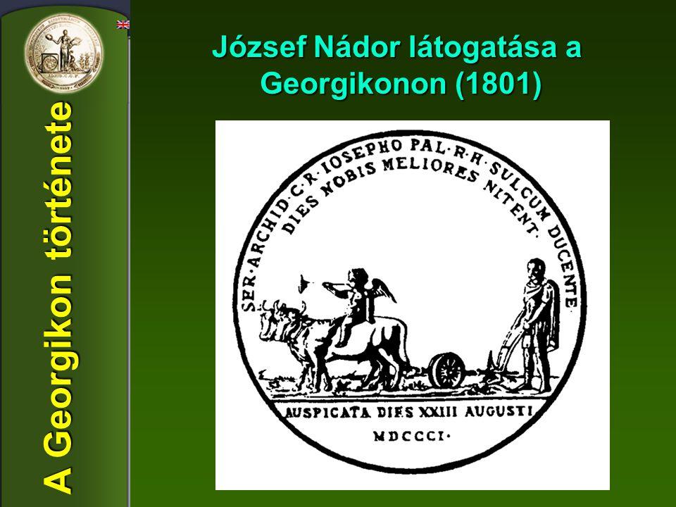 József Nádor látogatása a Georgikonon (1801)