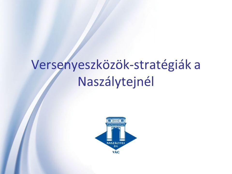 Versenyeszközök-stratégiák a Naszálytejnél