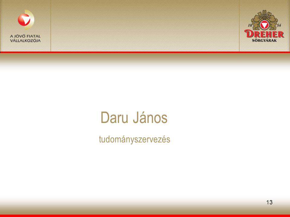 13 Daru János tudományszervezés