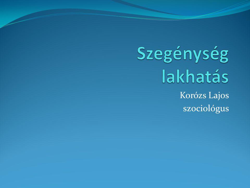 Korózs Lajos szociológus