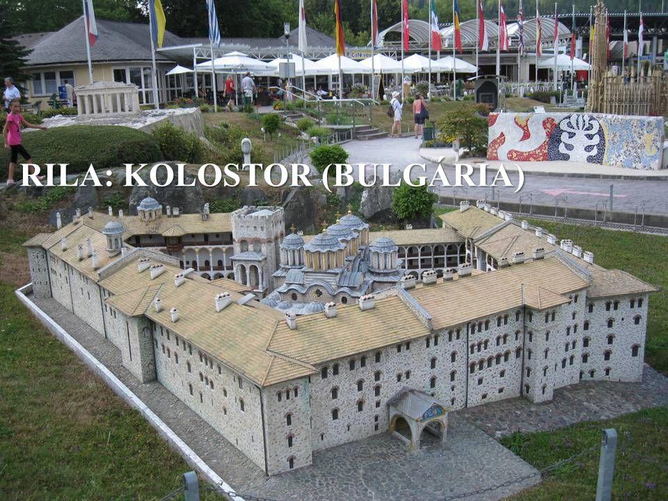 RILA: KOLOSTOR (BULGÁRIA)