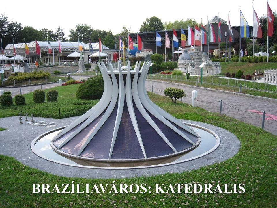 BRAZÍLIAVÁROS: KATEDRÁLIS
