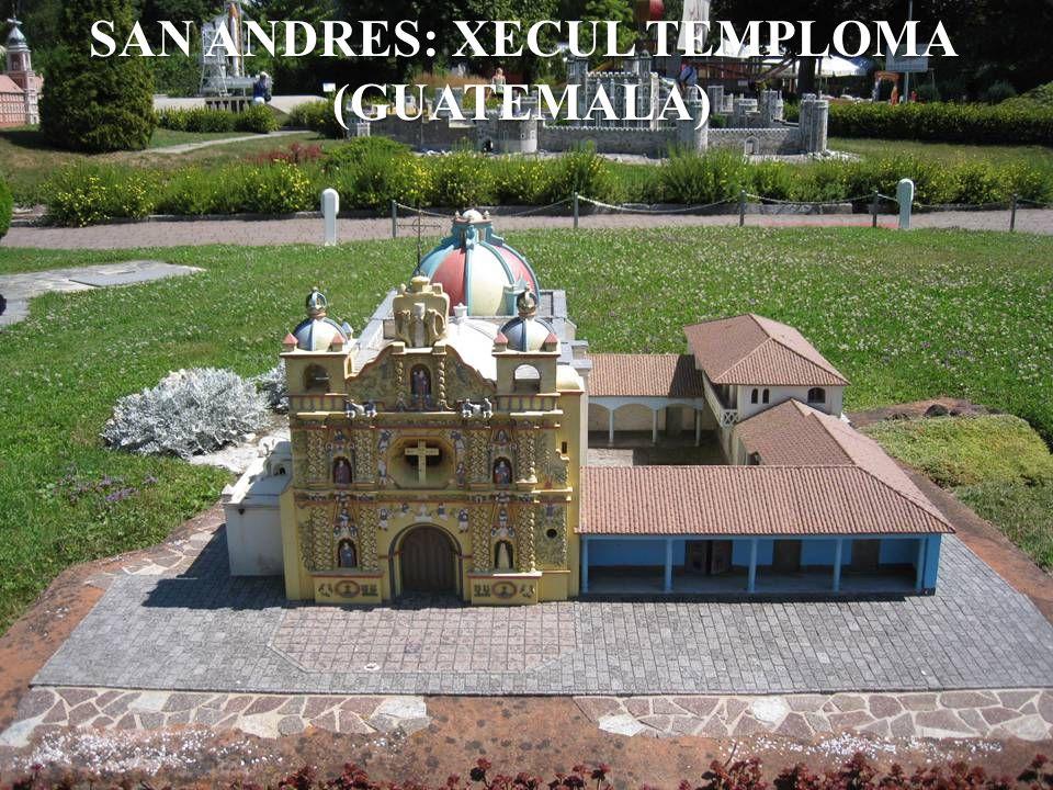 SAN ANDRES: XECUL TEMPLOMA (GUATEMALA)