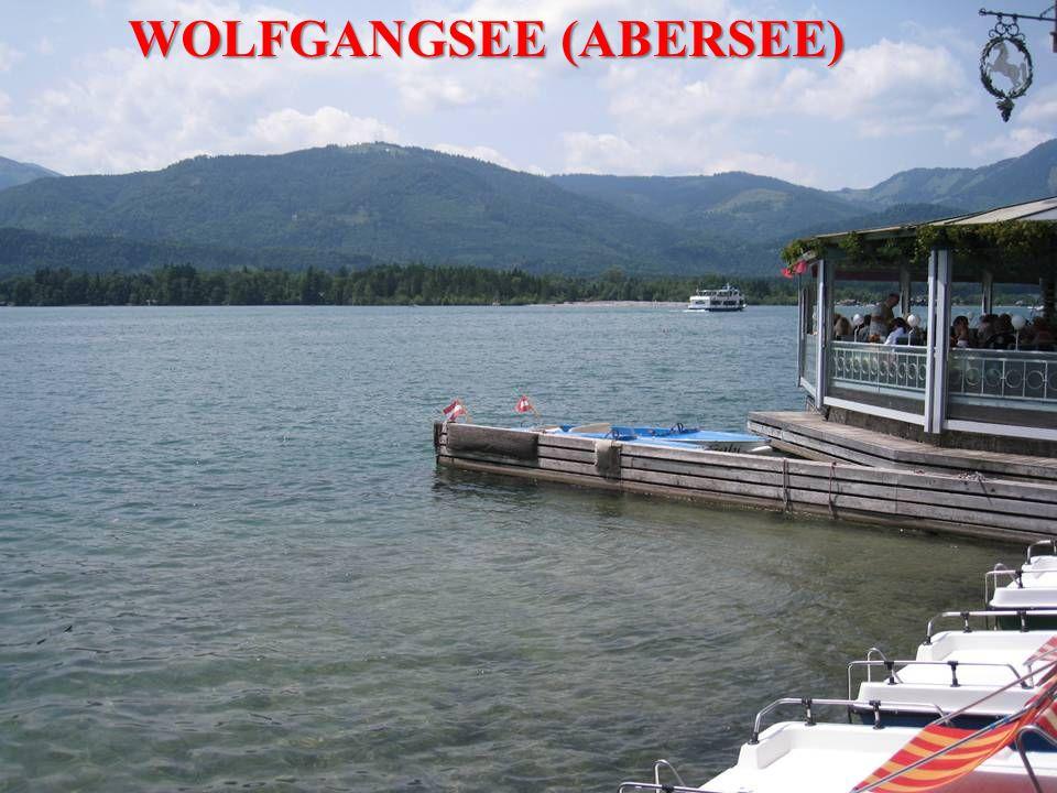 WOLFGANGSEE (ABERSEE)