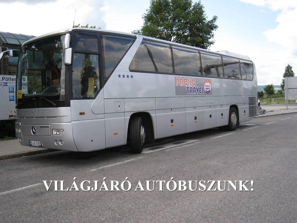 VILÁGJÁRÓ AUTÓBUSZUNK!