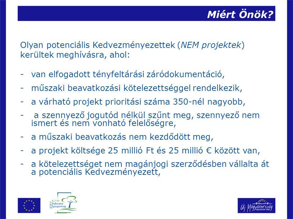 Projekt kiválasztási eljárás Pályázatos projekt kiválasztási eljárások Egyfordulós pályázat Részletes projektjavaslat kerül benyújtásra (teljes projektdokumentáció) Értékelés és jóváhagyás: 50 – 120 nap Kétfordulós pályázat Először előzetes projektjavaslat, majd amennyiben indokolt részletes projektjavaslat kerül benyújtásra Projektfejlesztési lehetőség Értékelés és jóváhagyás: 75 -120 nap