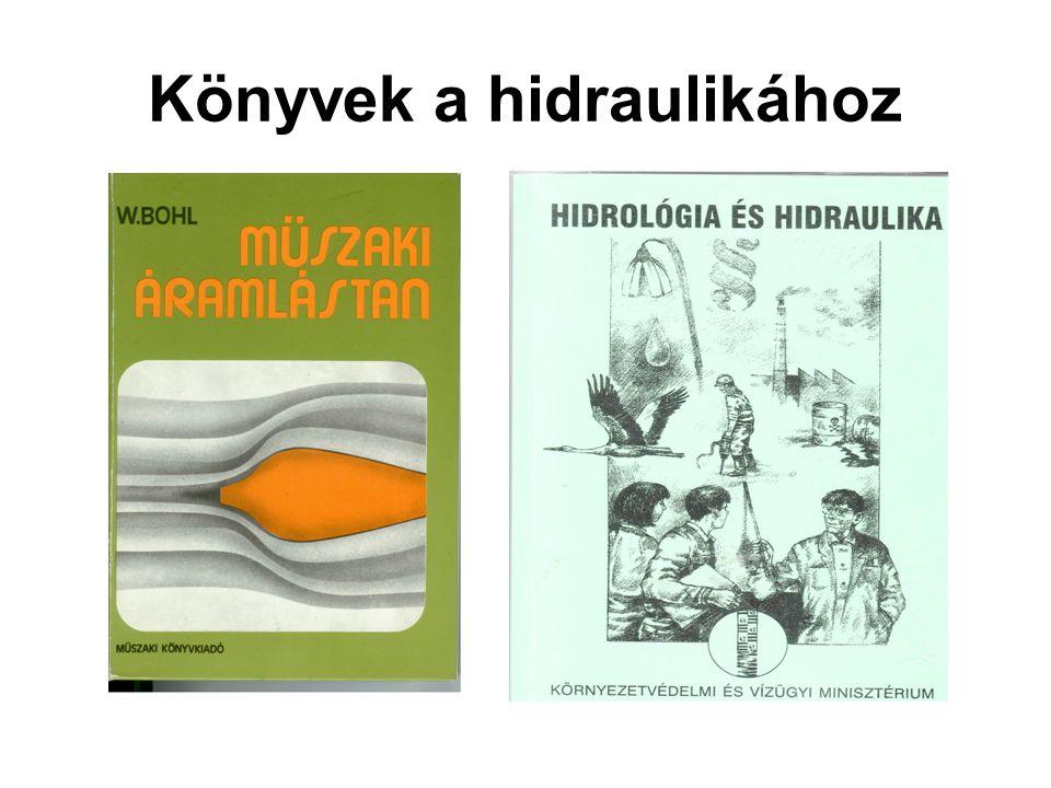 Könyvek a hidraulikához