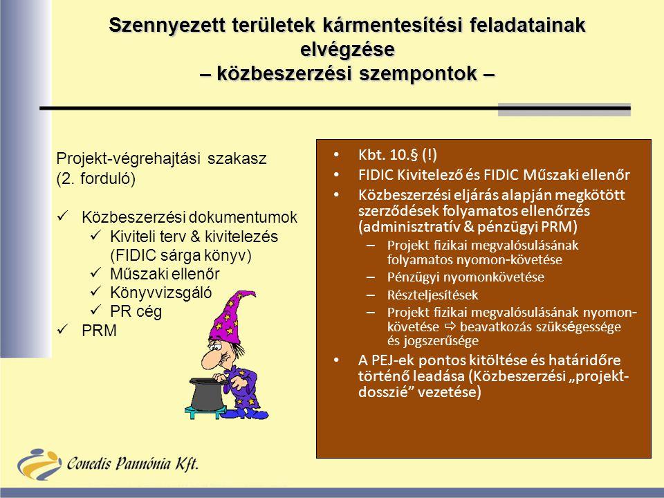 Projekt-végrehajtási szakasz (2.