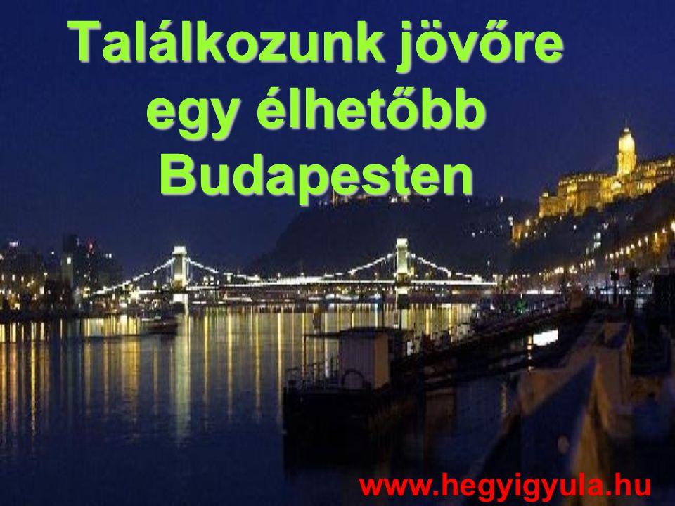 Találkozunk jövőre egy élhetőbb Budapesten www.hegyigyula.hu