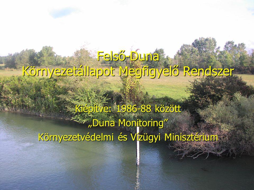 Az észleléseket a területi vízügyi igazgatóság és környezetvédelmi felügyelőség, egyetemek, kutató intézetek végzik.